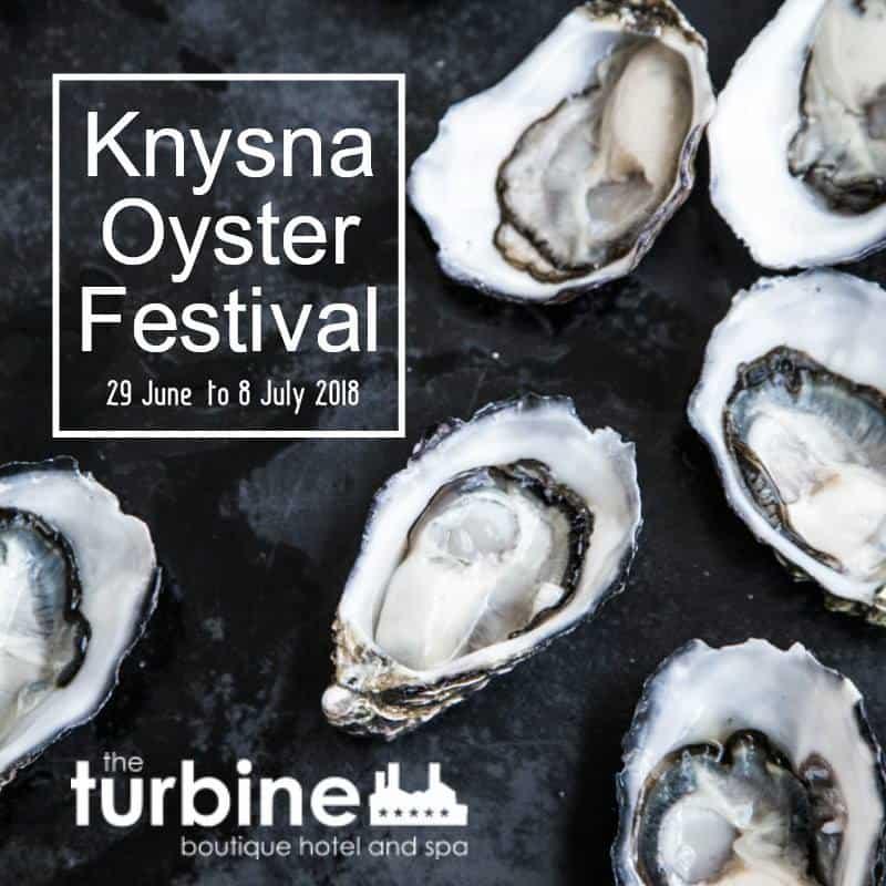 The Turbine and Knysna Oyster Festival 2018