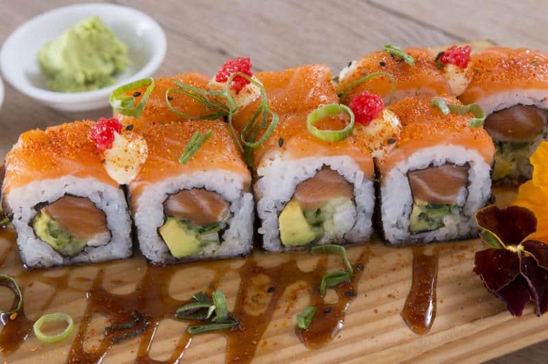 Sushi special in Knysna